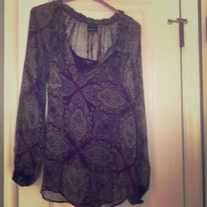 Ella Moss Blouse With Cami
